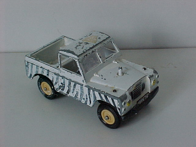 Incomplete Britains Land Rover