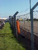 Fence and marshal